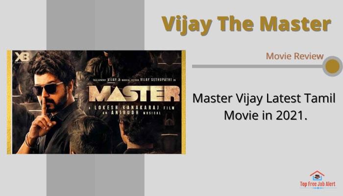Vijay The Master Full Movie